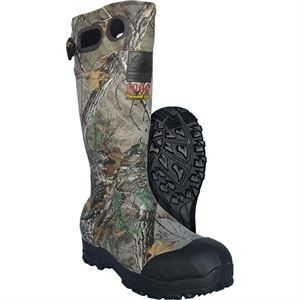 Mens Waterproof Rubber Boots, Mossy Oak ® Color