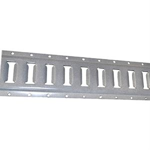 Horizontal E Track, Tie Down Hardware, 2 Ft.