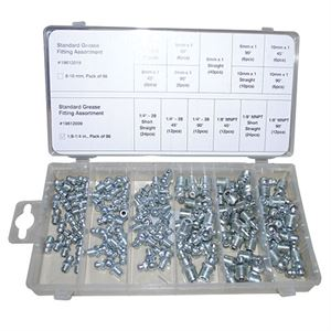 Standard Grease Fitting Assortment 1/8 - 1/4 In. (96 Pk)