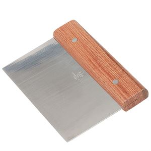 Dough Cutter, Stainless Steel Blade, Wooden Handle