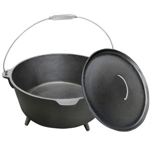 Carolina Cooker&#174 Preseasoned Cast Iron Dutch Oven, 20 Qt.