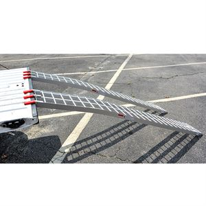 Arched Aluminum Ramp, 84 in., 1000 Lbs. Capacity