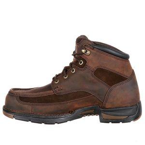 Georgia Athens Moc Work Boot, Waterproof, Size 10