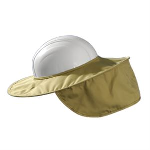 OccuNomix Khaki Stow-Away Hard Hat Shade