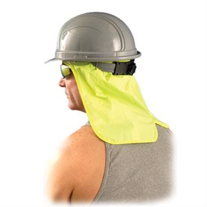 OccuNomix High-Visibility Yellow Hard Hat Neck Shade