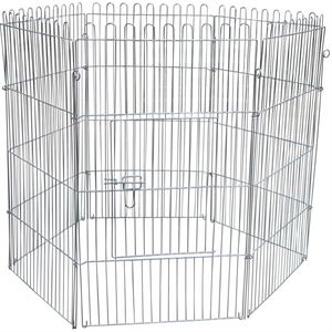 Pet Barrier Fence, 6 Pieces