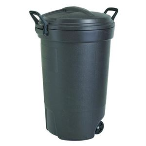 Rubbermaid Trash Can with Wheels, 32 Gallon