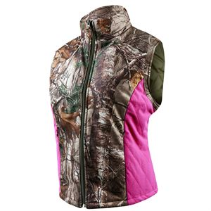 Women's Insulated Camo Vest, Size Medium