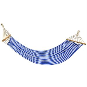 Canvas Hammock Blue & Grey