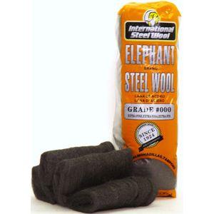 Steel Wool Hand Pads, Grade #000, 16 Pads