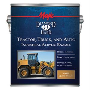 Tractor, Truck & Auto Paint, Yellow, 1 Gal.