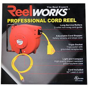 Adjustable Cord Reel, 40 Ft.