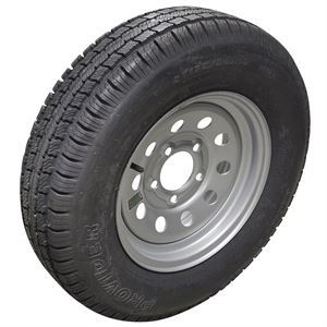 Hi-Run JK43 Trailer Tire ST175/80R13 LRC Tire Assembly, 6-Ply