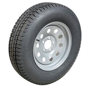 Hi Run JK42 Trailer Tire, ST205/75R15, PlyRating: C/6, WD1228