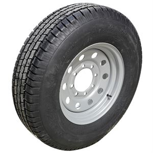 Hi-Run Trailer Tire ST235/80R16 LRE Tire Assembly, 10-Ply