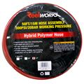 Hybrid Polymer Hose 1/2 In. x 50 Ft., Red