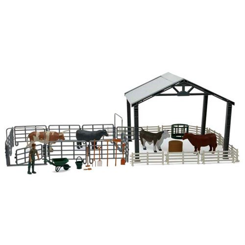 Cattle Ranch Life Playset