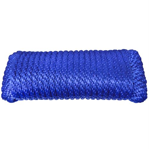 Derby Poly Rope, Blue, 1/2 In. x 50 Ft.