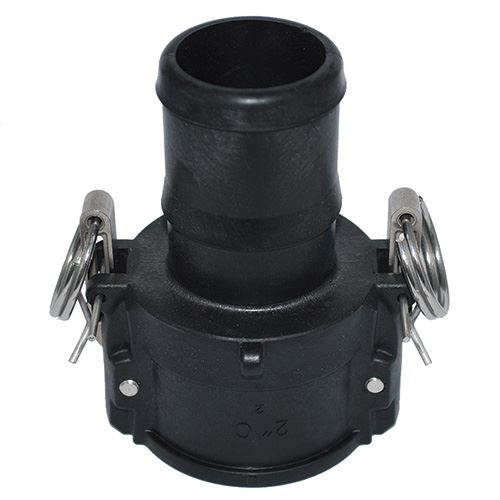2 Inch Female Cam Action Coupler With Hose Shank