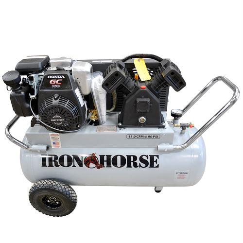 Portable Air Compressor, 25 Gallon