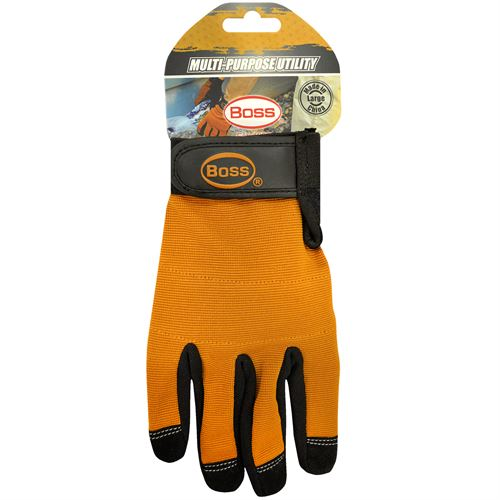 Tan Padded Utility Glove, Large