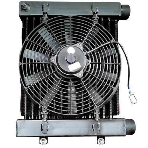 DeCloet Oil Cooler with Fan
