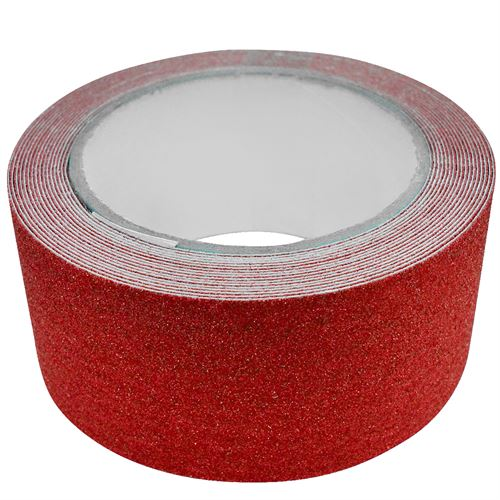 "Red Anti-Slip Tape 2"" x 16'"