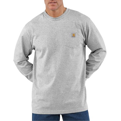 Long Sleeve Shirt Gray 3XL