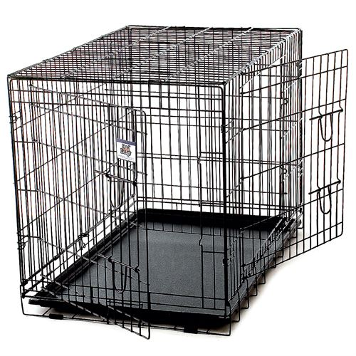 X-Large Wire Pet Crate Two Doors