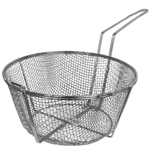 Nickel Plated Fry Basket 11-1/2
