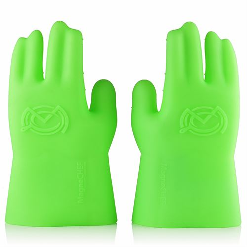 Silicone Cooking Glove Green