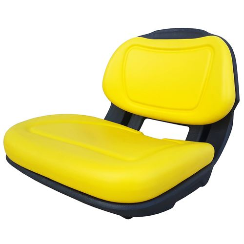Yellow Lawn Tractor Seat