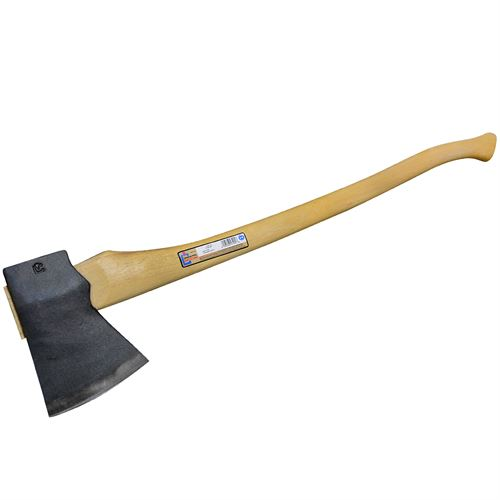 "3-1/2 Lb. Jersey Axe with Single Bit Axe with 36"" Curved Handle"
