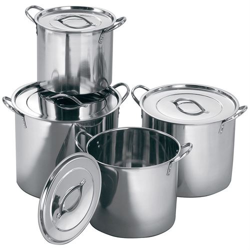4 pc Stock Pot (4,6,8,11 Qt)