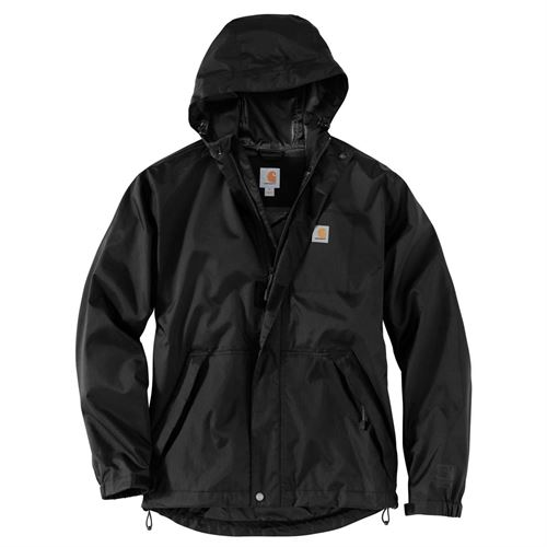 Mens Nylon Jacket Black 2XL