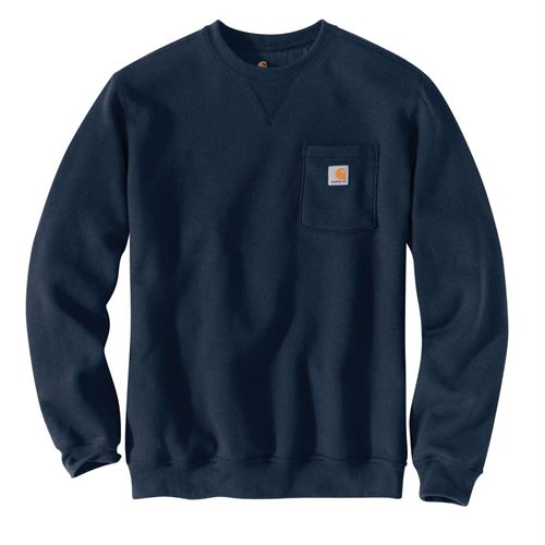 Navy Sweatshirt With Pocket 4XL