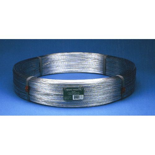 High Tensile Wire, 12.5 Gauge, Galvanized, 170 Ksi