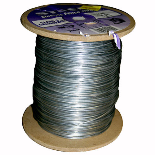 Gauge Mile Galvanized Electric Fence Wire