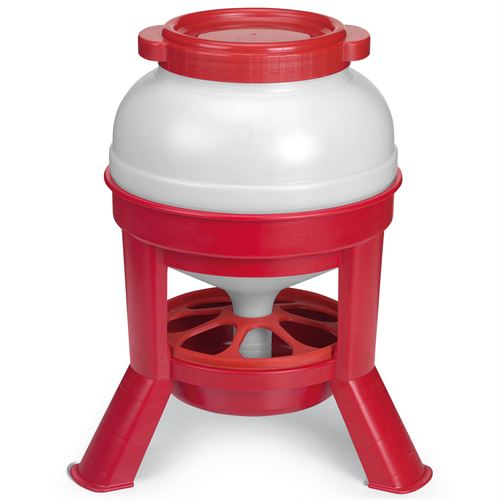 Plastic Dome Feeder Poultry 35 Lbs.