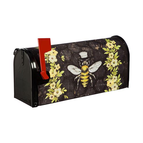 Queen Bee Mailbox Cover