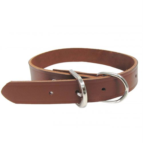1 X 19 Leather Hunting Collar