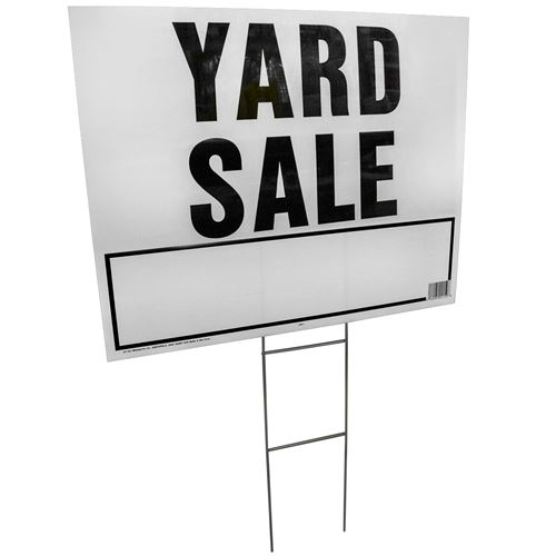 Yard Sale Sign, 20 In. X 24 In.
