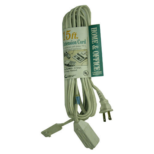 Spt Household Extension Cord White