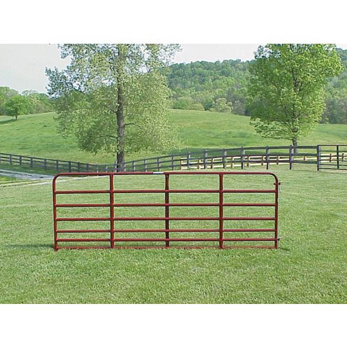 Bar Tube Steel Bull Gate