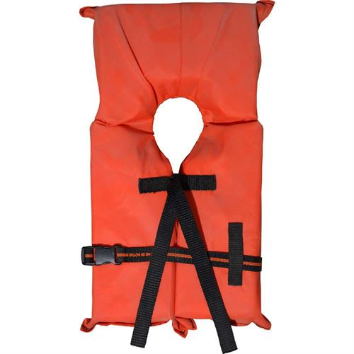 Child Small Orange Vest, 30-50 Lbs.