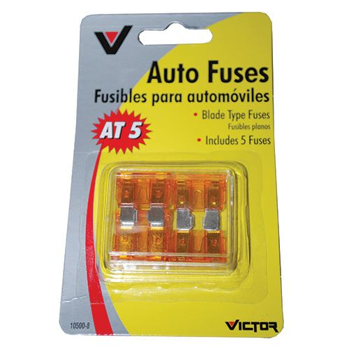 Blade Type Fuse, 5 AMP, 5 Pack