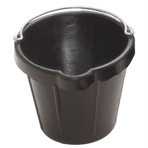N Quart Utility Pail With Pouring Lip Rubber