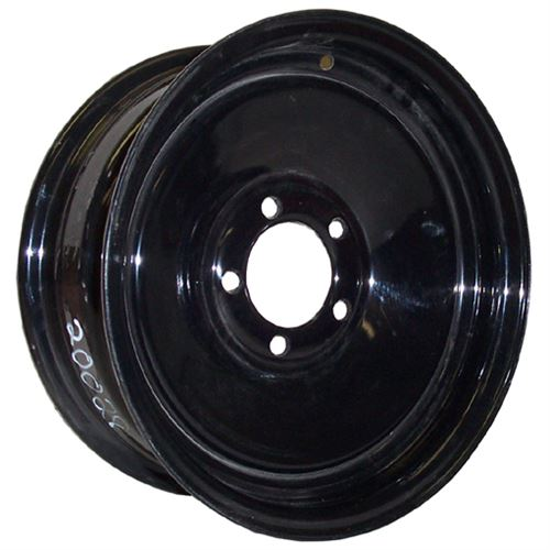 On Lug Blk Standard Trailer Wheel