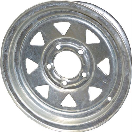 Trailer Wheel, 13 in., 5 Lug