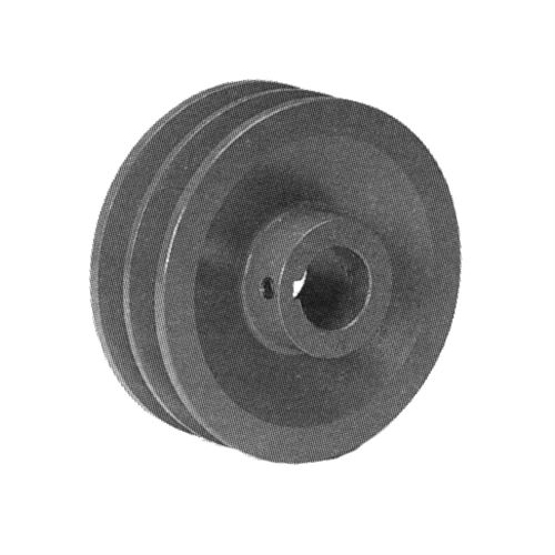 Double Groove Pulley With Bore